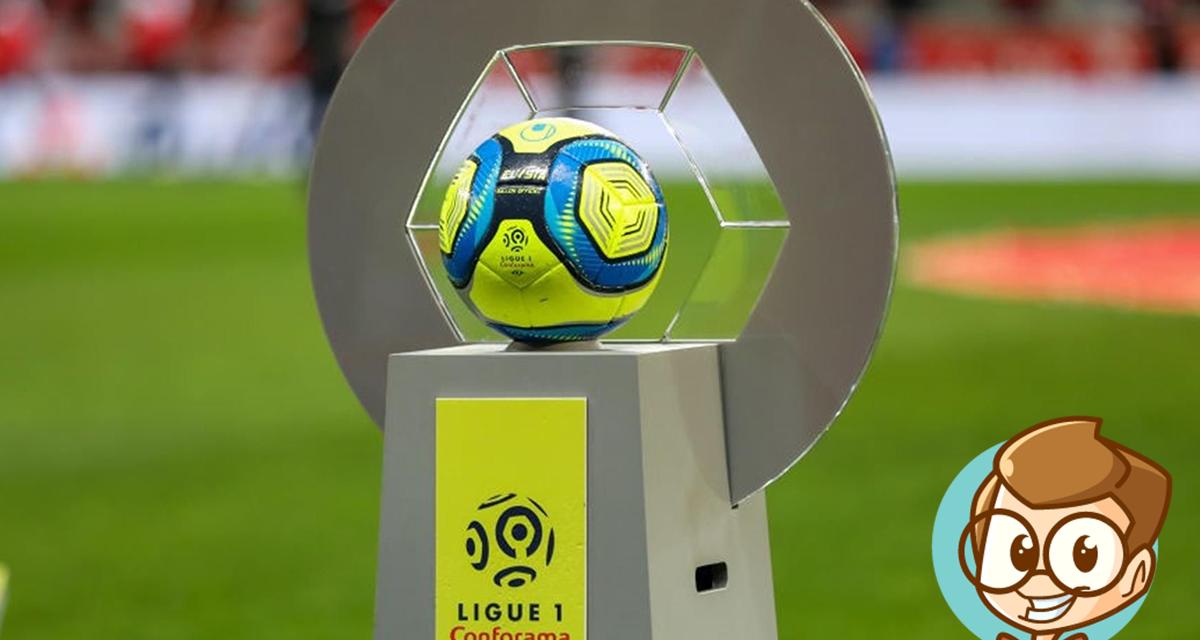 Le classement de la ligue 1 saison 2019/2020 !